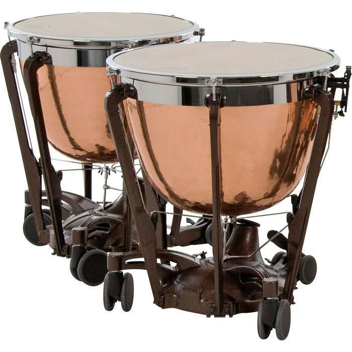 "Adams 26/29"" Professional Gen II Hammered Cambered Copper Timpani"