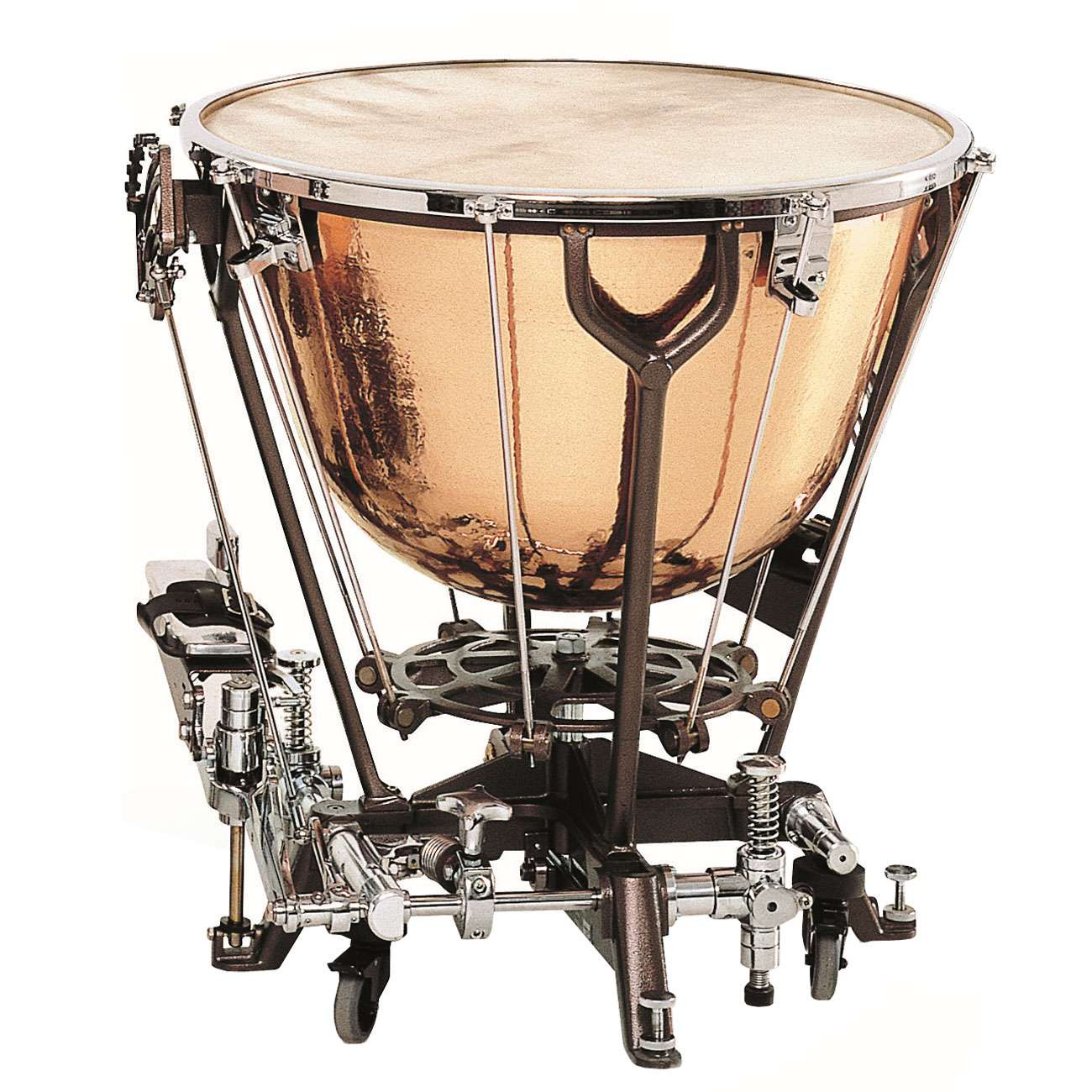 "Adams 29"" Philharmonic Dresden Classic Timpani with Wheels and Calfskin Head"