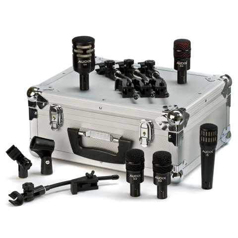 Audix DP5A Drum Set Microphone Pack with Case