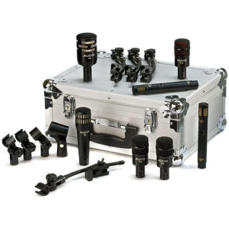 Audix DP7 Drum Set Microphone Pack with Case