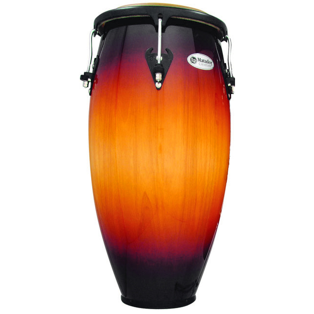 "LP 12.5"" Matador Custom Wood Tumba Conga in Vintage Sunburst"