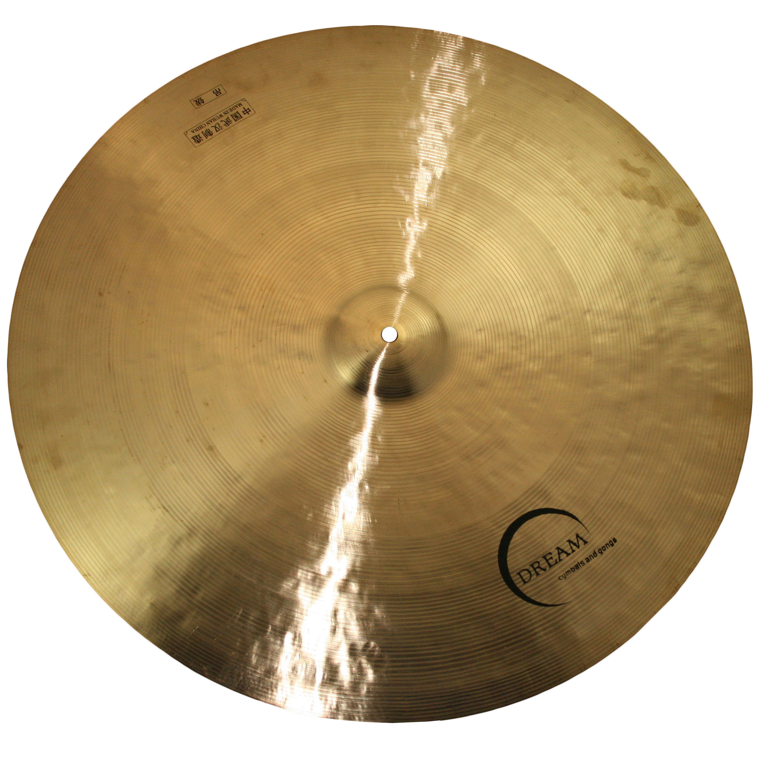"Dream 24"" Contact Small Bell Flat Ride Cymbal"