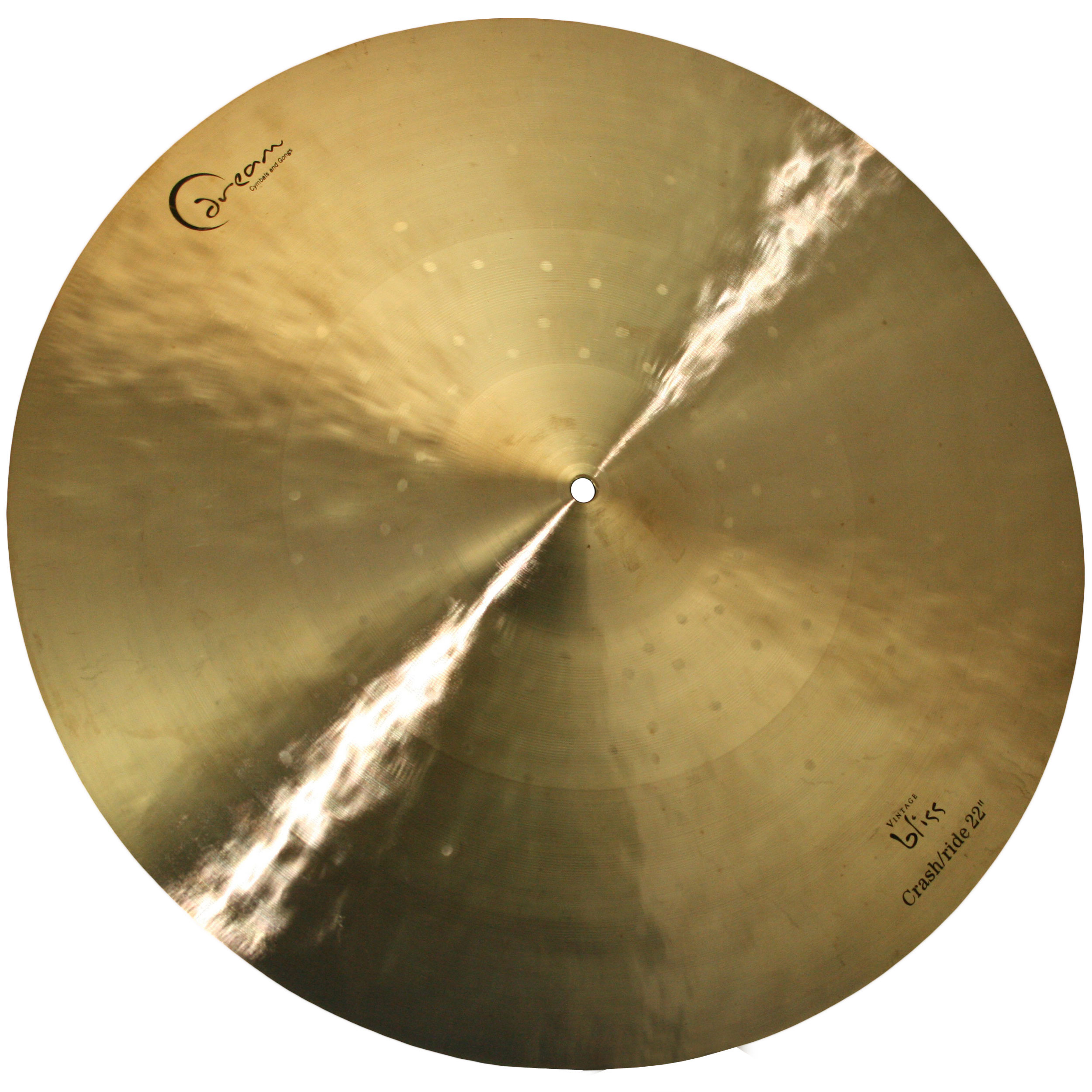 "Dream 22"" Vintage Bliss Crash/Ride Cymbal"