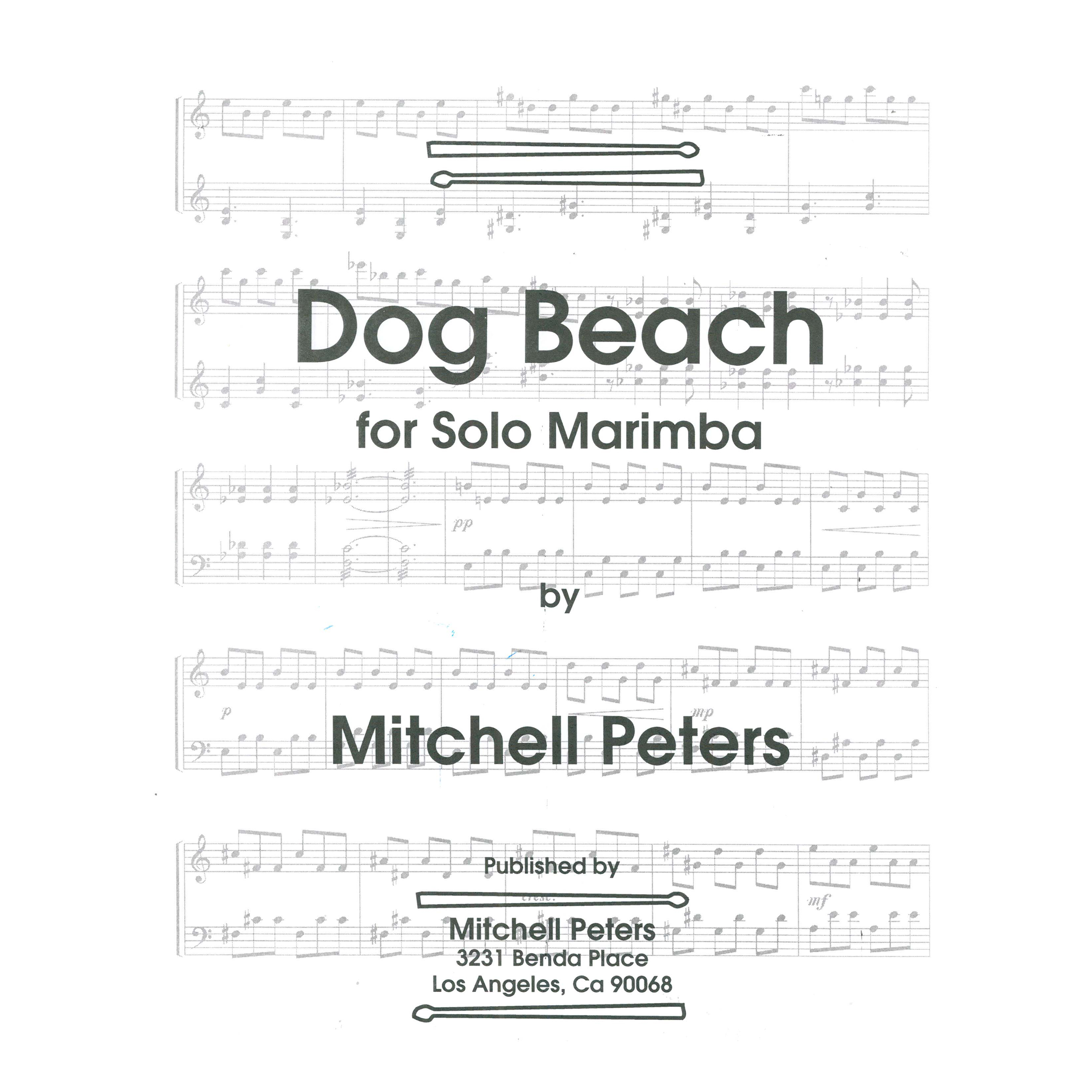 Dog Beach by Mitchell Peters