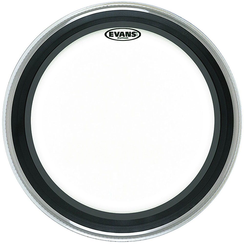 """Evans 18"""" EMAD Clear Bass Head"""