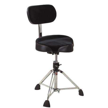 Gibraltar Oversized Motorcycle Seat Throne with Backrest