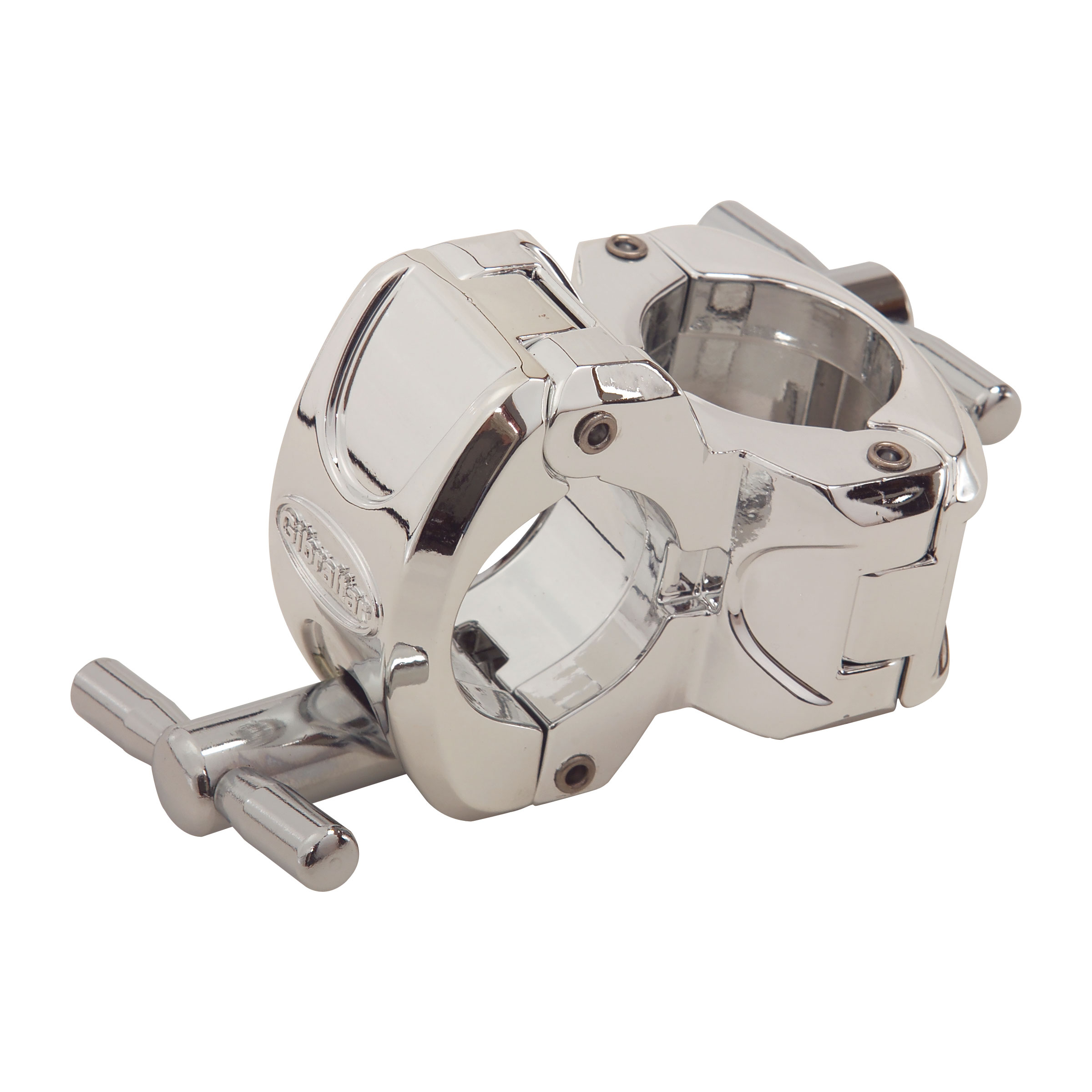 Gibraltar Stealth Style Chrome Right Angle Clamp