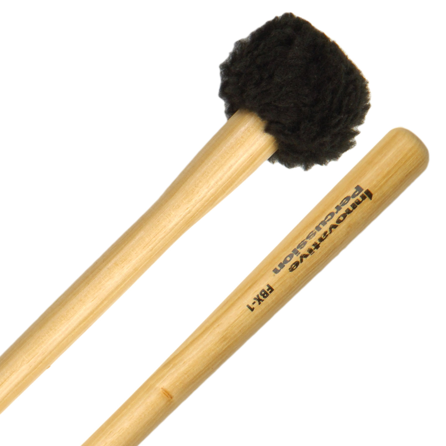 Innovative Percussion FBX-1S Field Series Tapered Handle Soft Marching Bass Drum Mallets