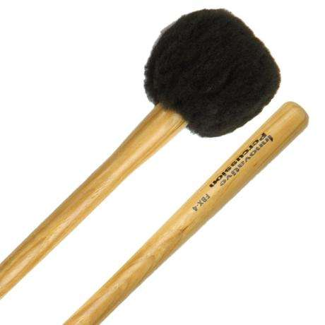Innovative Percussion FBX-4S Field Series Tapered Handle Soft Marching Bass Drum Mallets