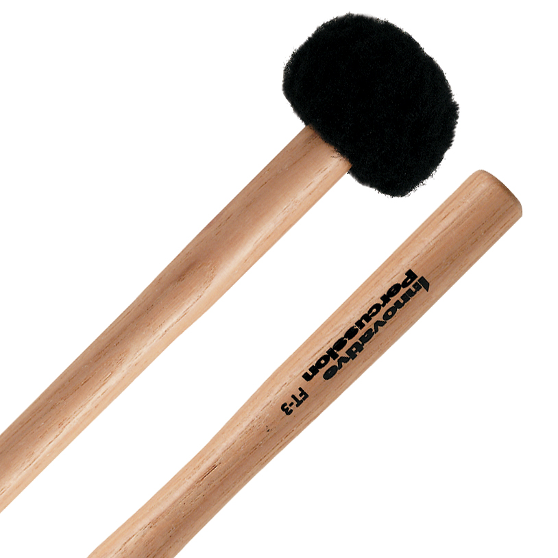 Innovative Percussion FT-3 Field Series Hickory Soft Marching Tenor Mallets