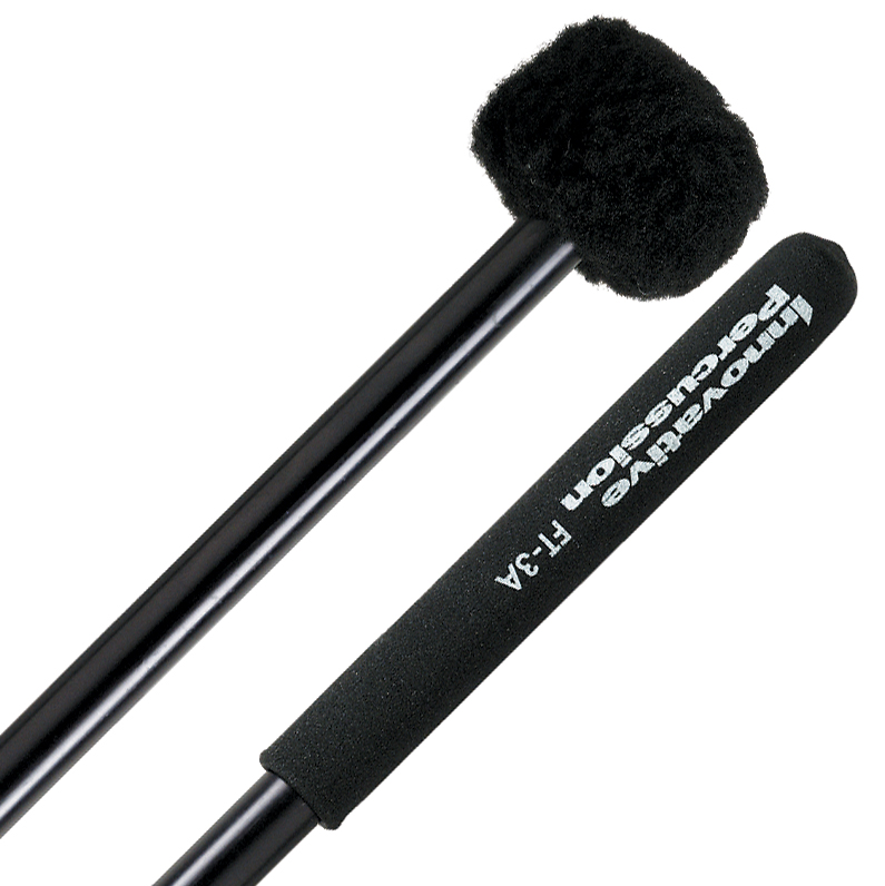 Innovative Percussion FT-3A Field Series Aluminum Soft Marching Tenor Mallets