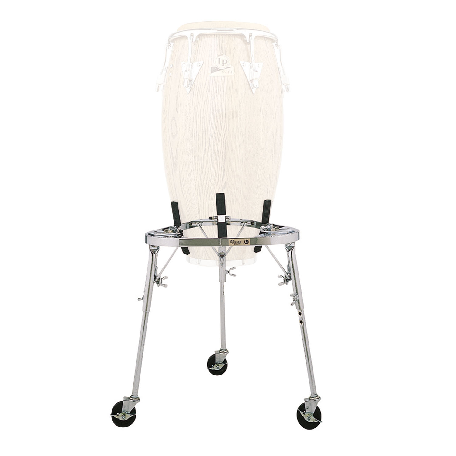 LP Collapsible Conga stand with legs & wheels