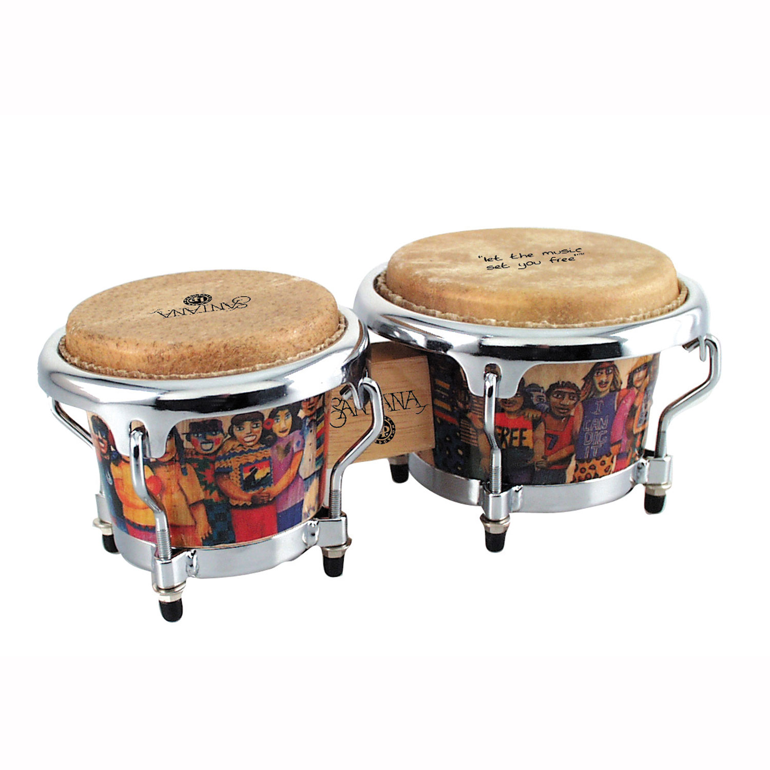 LP Santana Mini Tunable Bongos