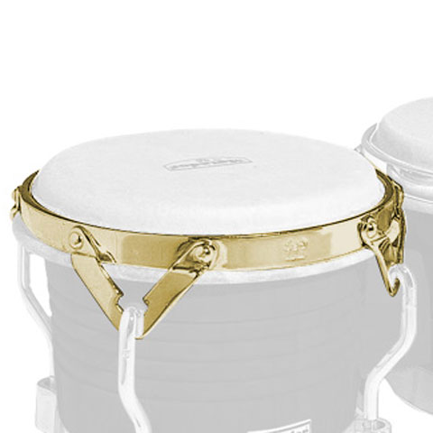LP Small Mat Traditional Bongo Rim, Gold Tone