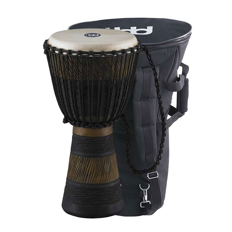 """Meinl 10"""" Earth Rhythm Series Rope-Tuned Djembe with Bag"""