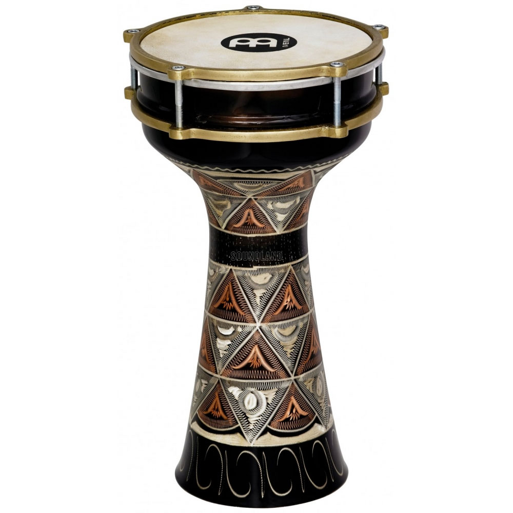 Meinl Large Hand Engraved Copper Darbuka