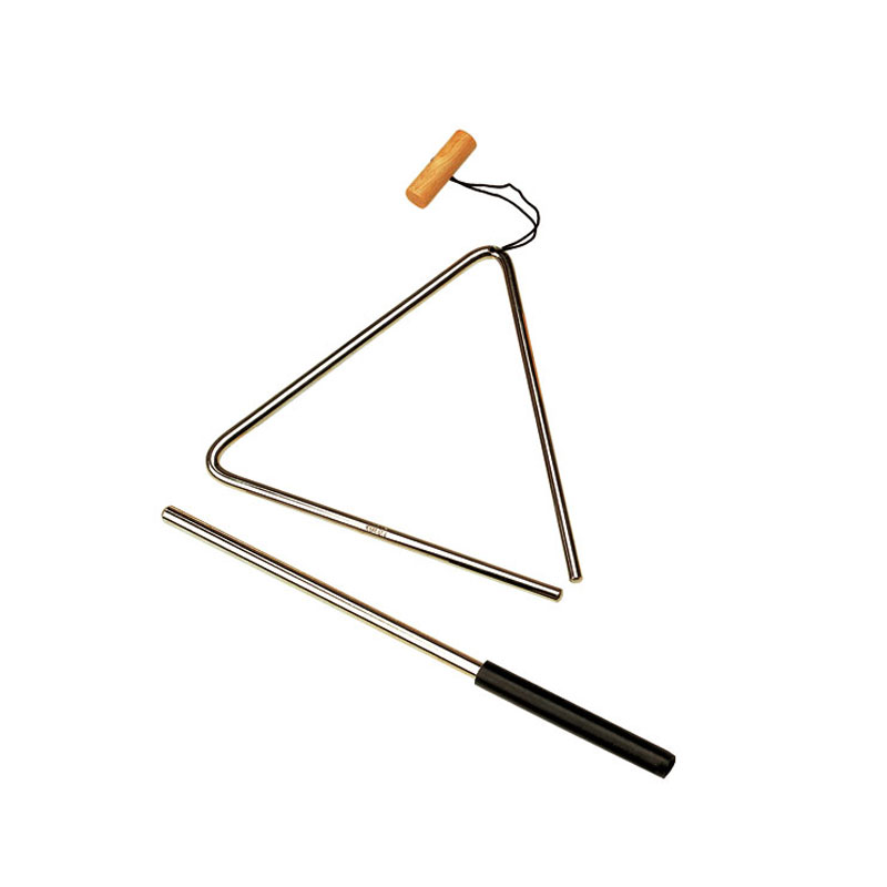 """Meinl Nino 6"""" Triangle with Holder and Beater"""