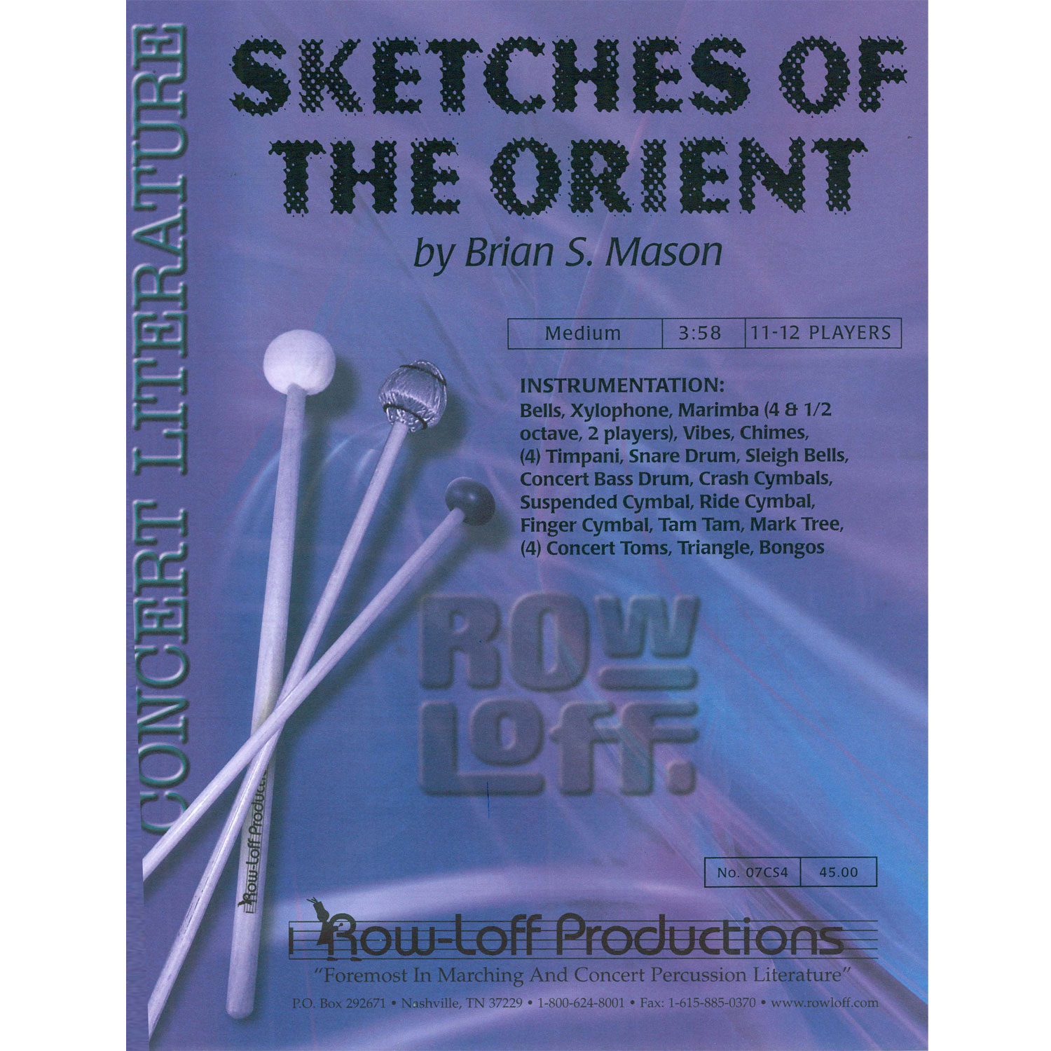 Sketches of the Orient by Brian S. Mason