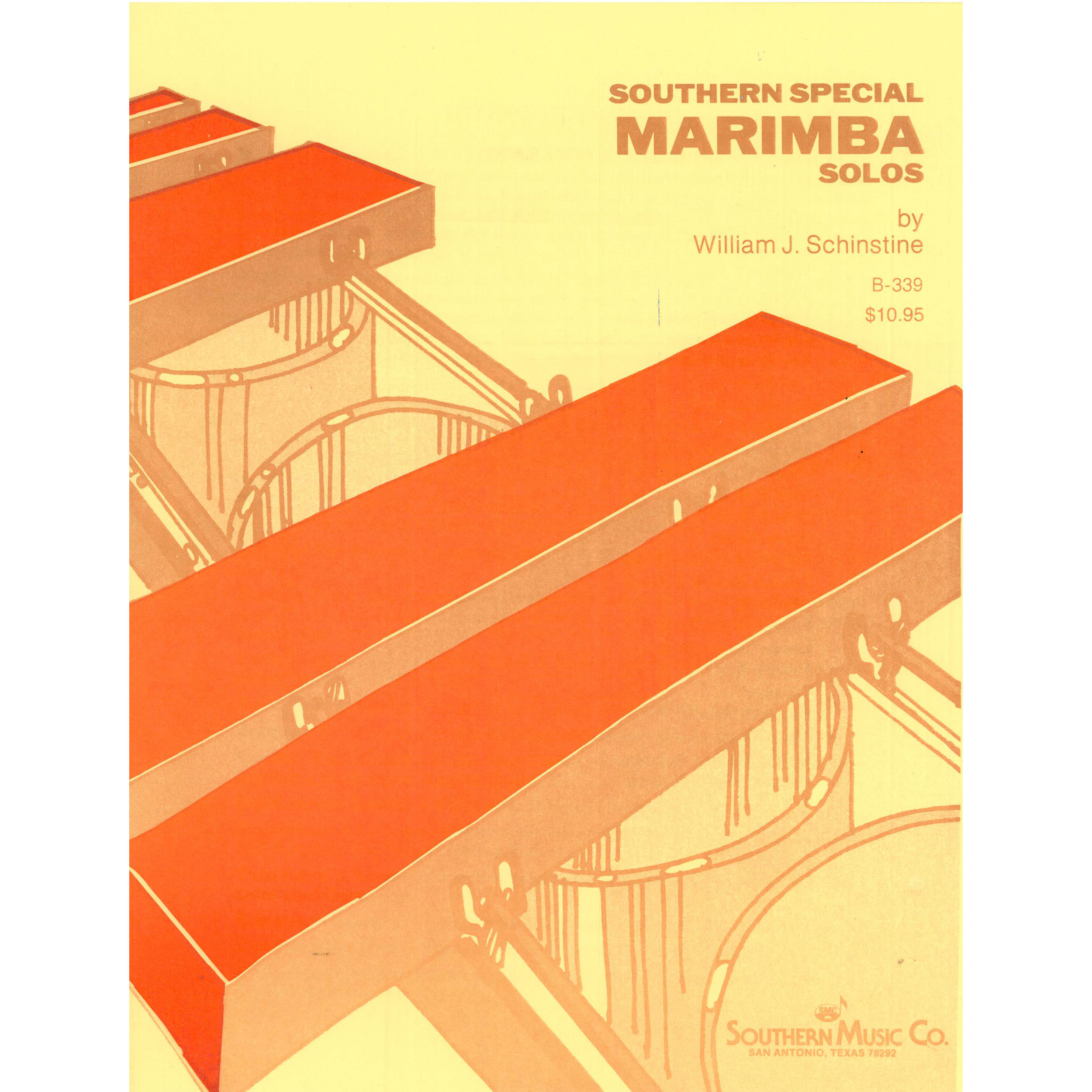 Southern Special Marimba Solos by William Schinstine