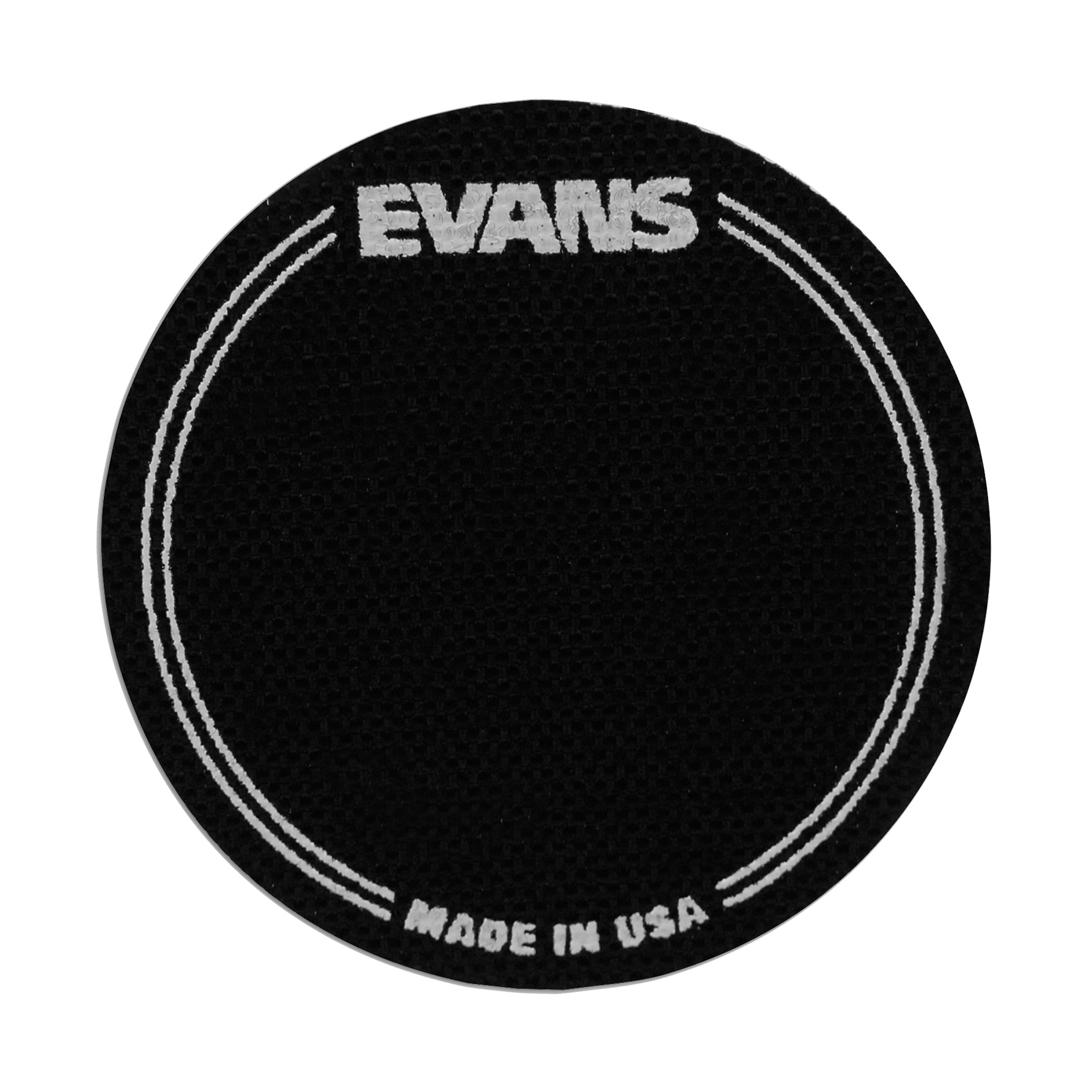 Evans Black Nylon EQ Single Pedal Bass Drum Patch