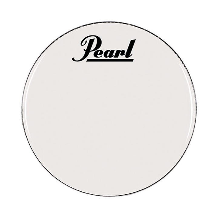 """Pearl/Remo 14"""" Smooth White Ambassador Marching Bass Head"""