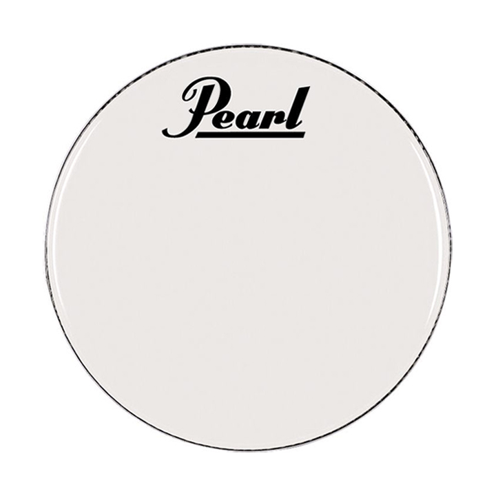 """Pearl/Remo 16"""" Smooth White Ambassador Marching Bass Head"""