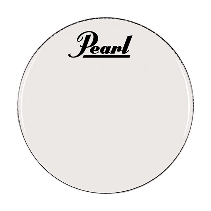 """Pearl/Remo 18"""" Smooth White Ambassador Marching Bass Head"""