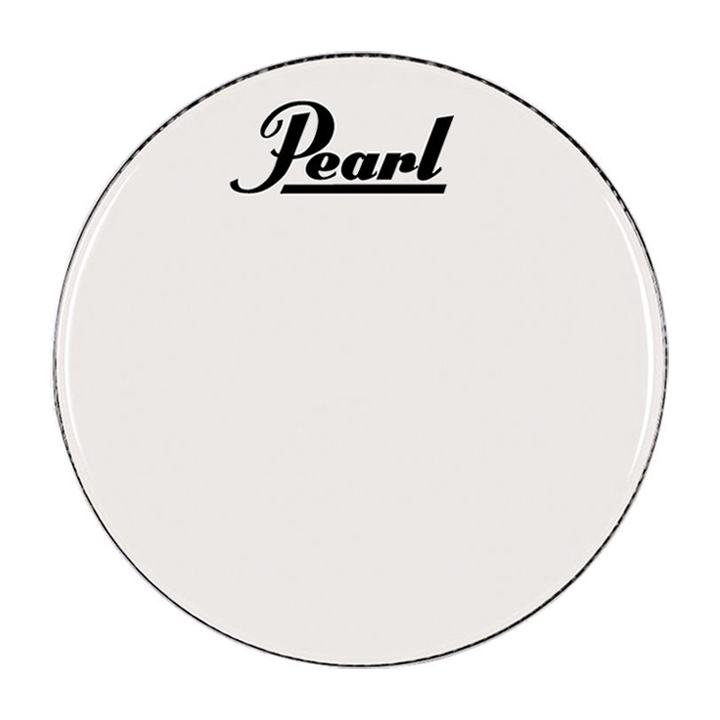 """Pearl/Remo 20"""" Smooth White Ambassador Marching Bass Head"""