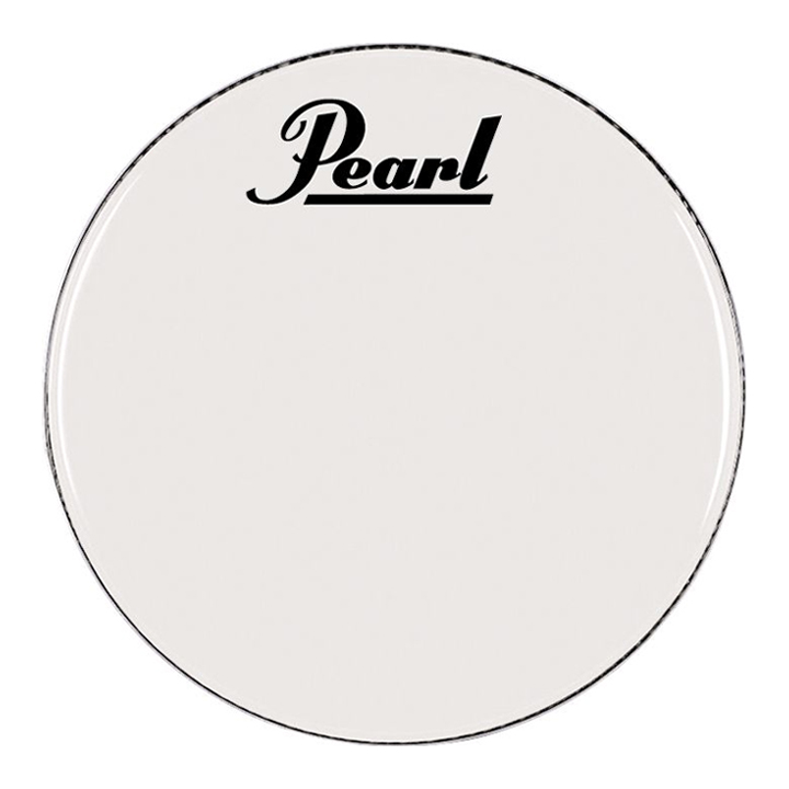 """Pearl/Remo 24"""" Smooth White Ambassador Marching Bass Head"""