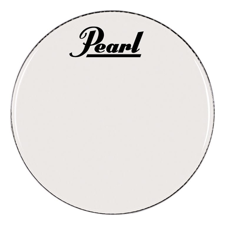"""Pearl/Remo 26"""" Smooth White Ambassador Marching Bass Head"""