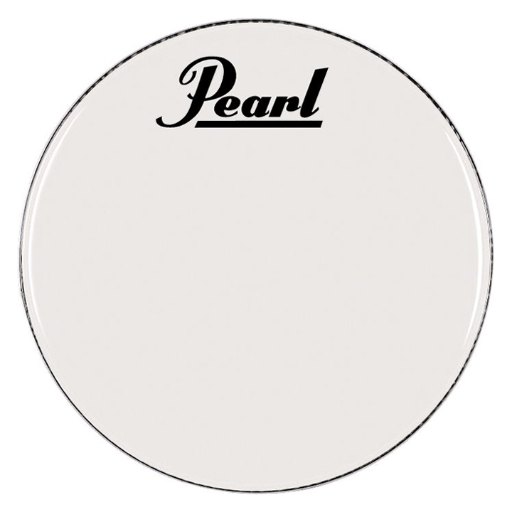 """Pearl/Remo 28"""" Smooth White Ambassador Marching Bass Head"""