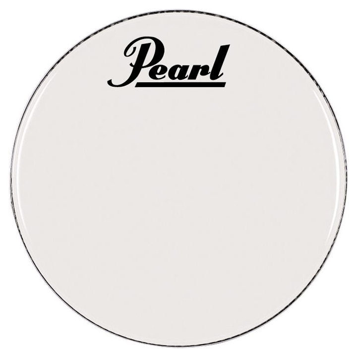"""Pearl/Remo 30"""" Smooth White Ambassador Marching Bass Head"""
