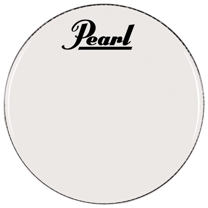 """Pearl/Remo 32"""" Smooth White Ambassador Marching Bass Head"""