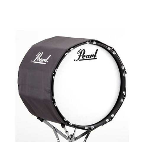 "Pearl 16"" Gray Marching Bass Cover"