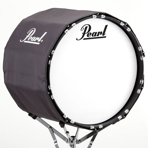 "Pearl 32"" Gray Marching Bass Cover"