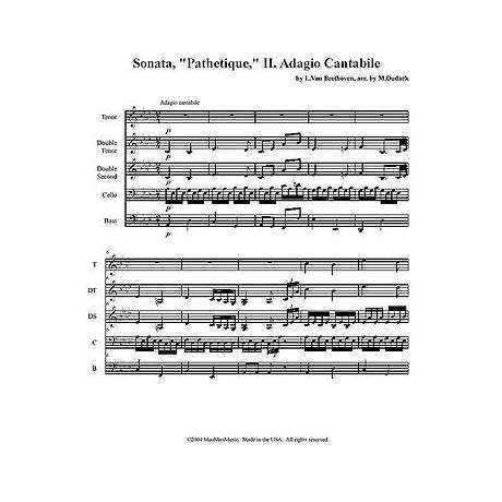 Adagio Cantabile from Sonata Pathetique by Beethoven arr. Shelly Irvine