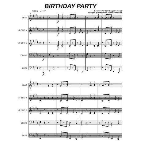Birthday Party by Len