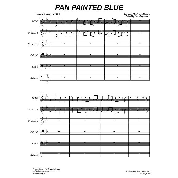 Pan Painted Blue by Franz Grissom