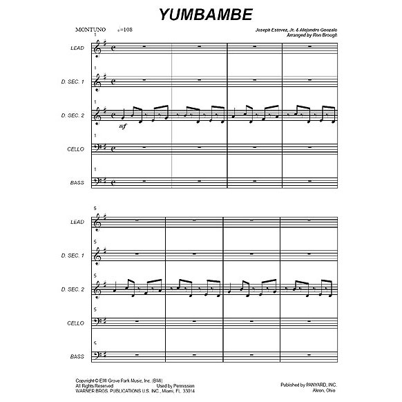 Yumbambe by Ron Brough