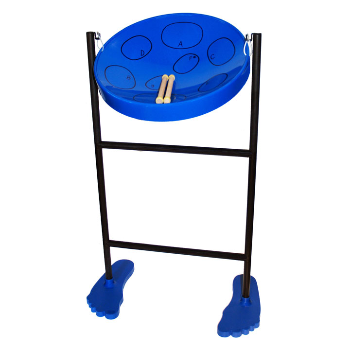 Panyard Jumbie Jam Steel Drum Kit Blue