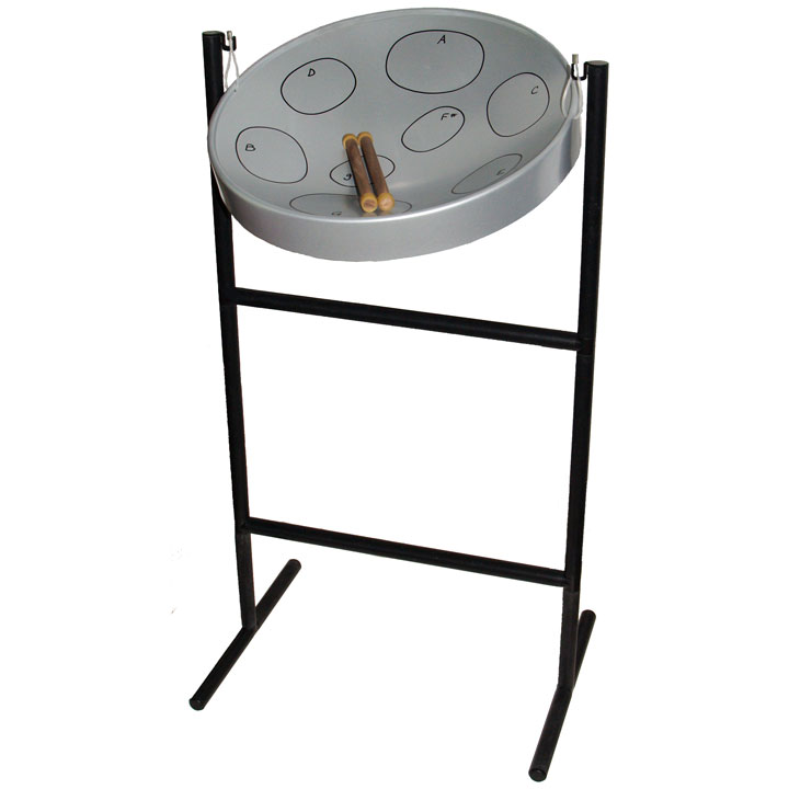 Panyard Jumbie Jam Steel Drum Kit Silver