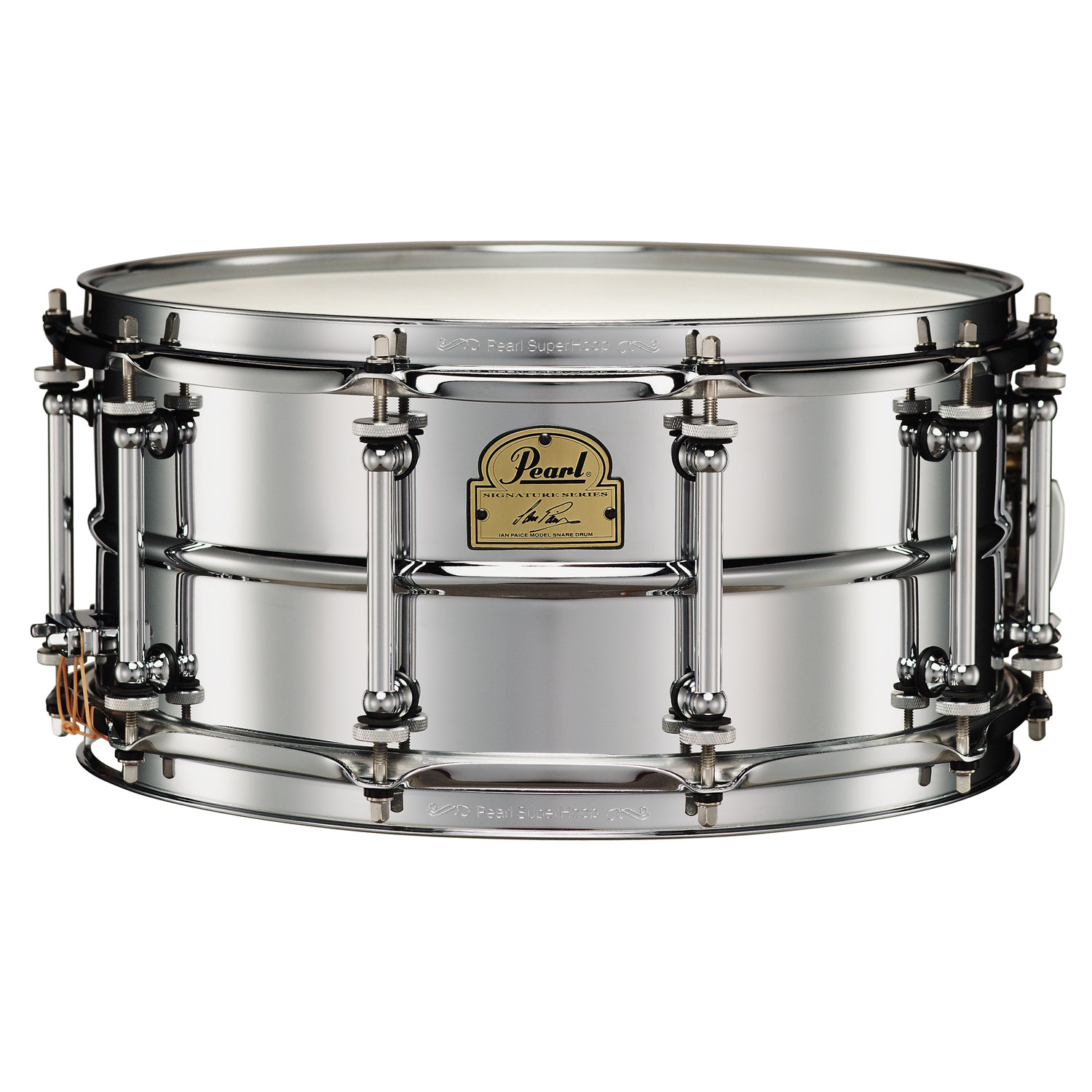 "Pearl 14"" x 6.5"" Ian Paice Chrome Snare Drum"