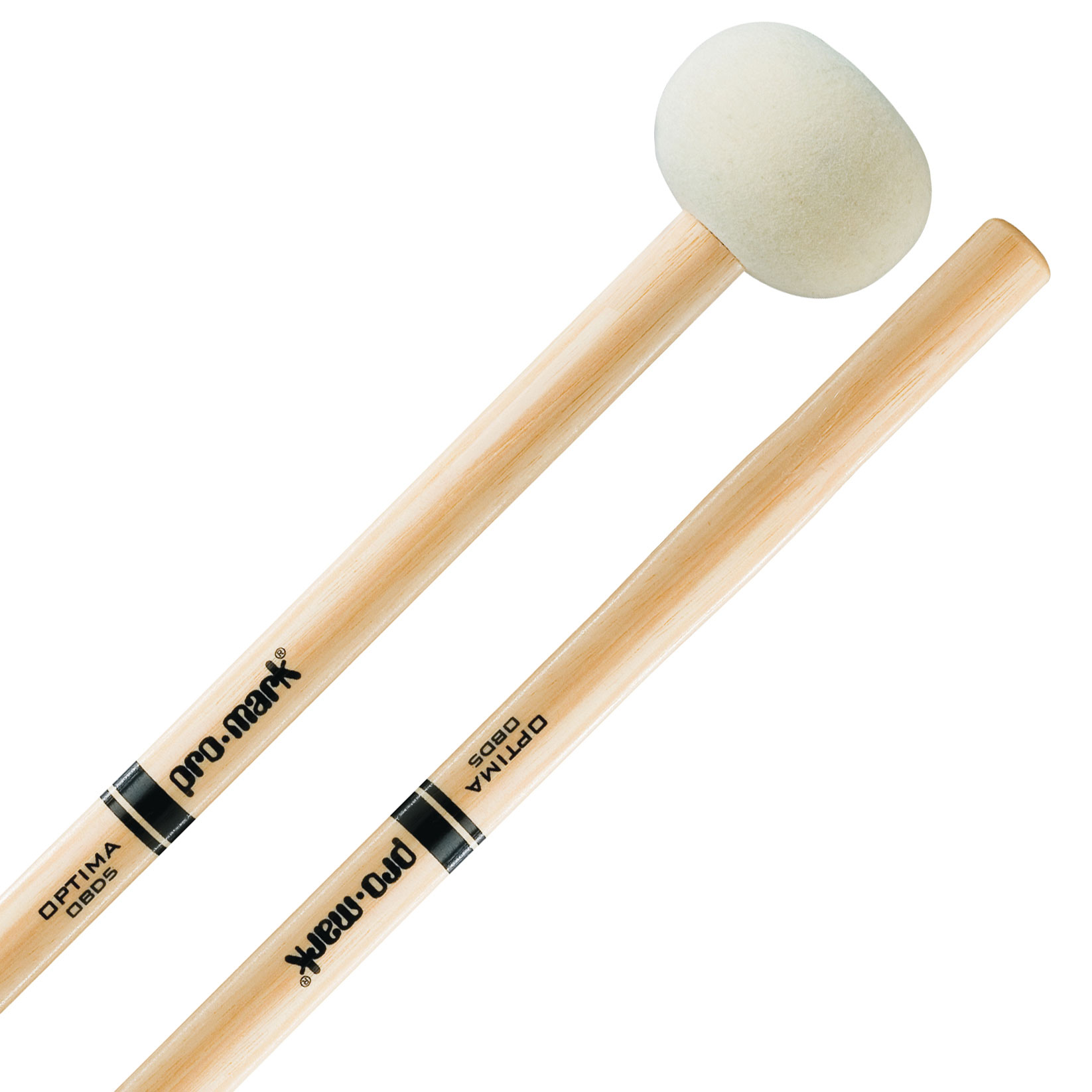Promark OBD5 Optima Large Marching Bass Drum Mallets