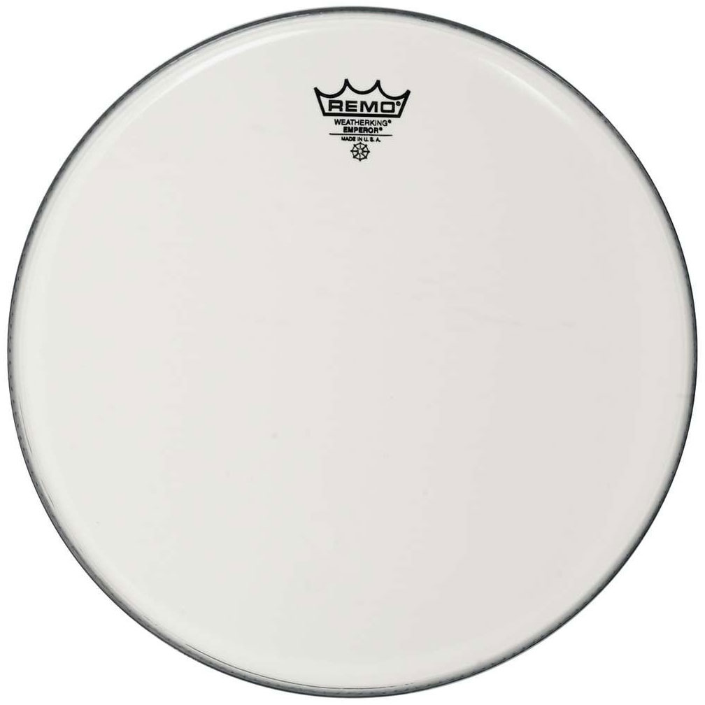 "Remo 12"" Emperor Smooth White Drum Head"