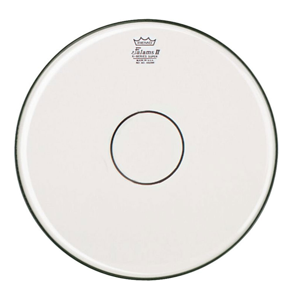 """Remo 14"""" Falams Marching Snare Drum Top (Batter) Head with Clear Dot"""