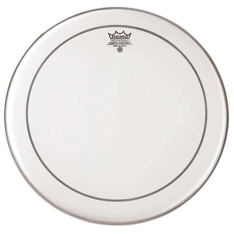 """Remo 20"""" Powerstroke P3 Smooth White Bass Drum Head with Falam Patch"""