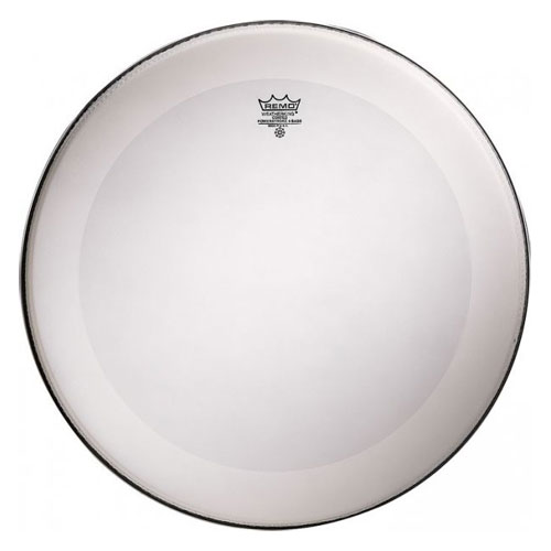 """Remo 24"""" Powerstroke P4 Coated Bass Drum Head with Falam Patch"""