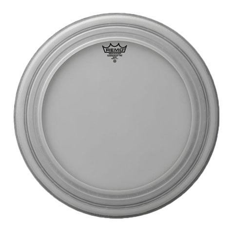"Remo 22"" Powerstroke Pro Coated Bass Drum Head"