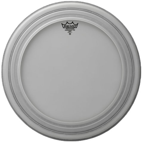 "Remo 24"" Powerstroke Pro Coated Bass Drum Head"
