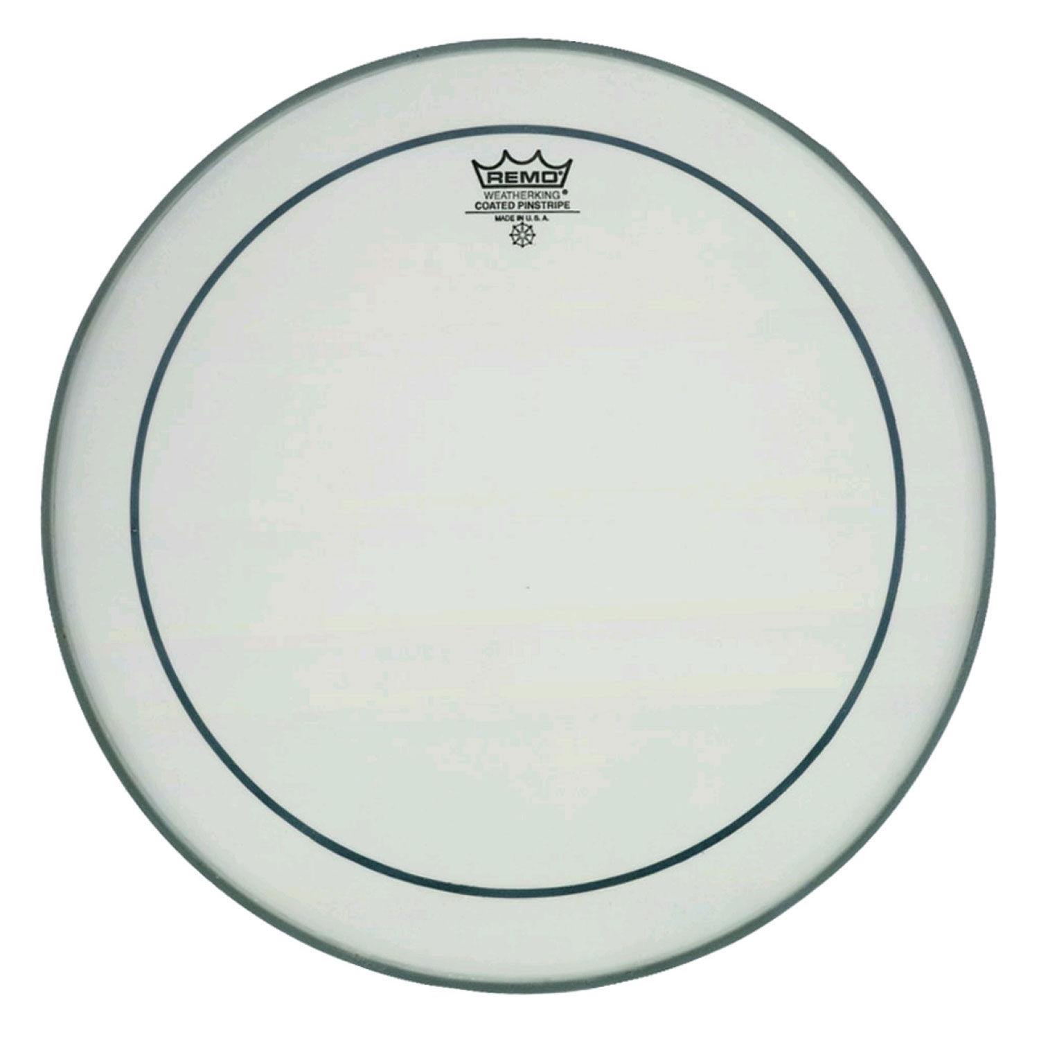 "Remo 18"" Pinstripe Coated Bass Drum Head"